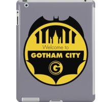 Welcome Gotham iPad Case/Skin