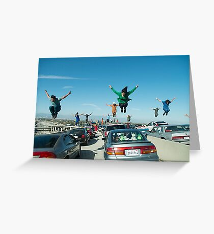 La La Land Greeting Card