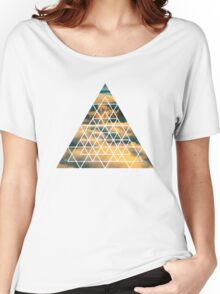 Geometric Shape - Clouds Women's Relaxed Fit T-Shirt