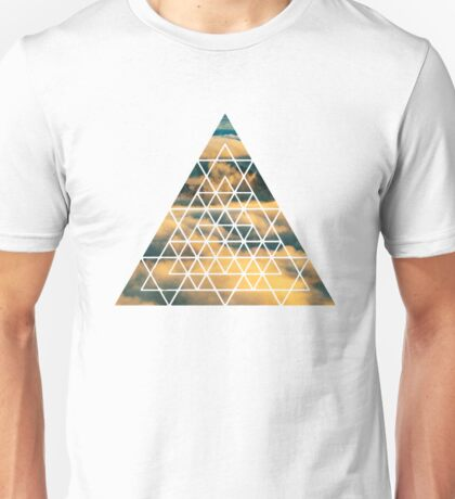 Geometric Shape - Clouds Unisex T-Shirt