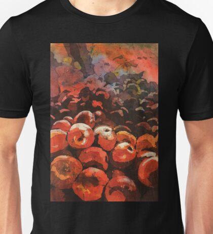 Apples- watercolor batik painting Unisex T-Shirt