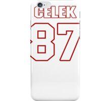 NFL Player Brent Celek eightyseven 87 iPhone Case/Skin