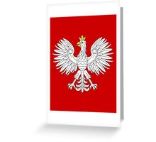 Polish Eagle Greeting Card