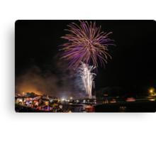 Fireworks spectacular Canvas Print