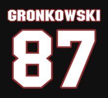 NFL Player Rob Gronkowski eightyseven 87 by imsport