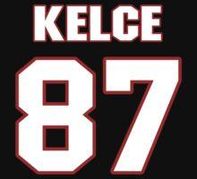 NFL Player Travis Kelce eightyseven 87 by imsport