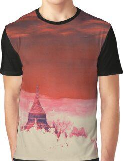 Ruined Pagoda- Pagan, Myanmar (Burma) Graphic T-Shirt