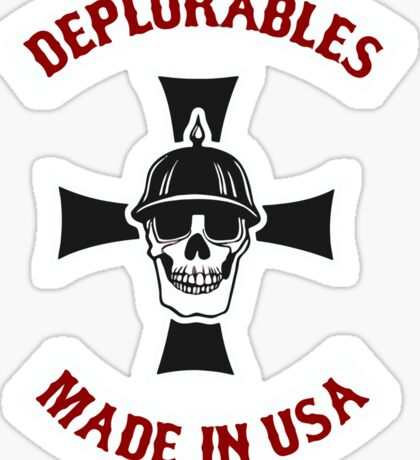 Deplorables Made In USA Sticker