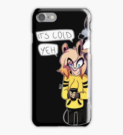 Angel and Devil ; Cold Coffee iPhone Case/Skin