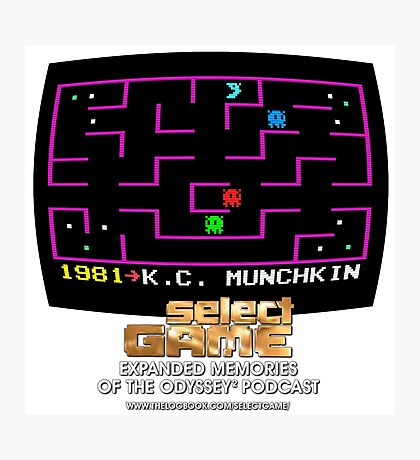 Select Game Podcast: K.C. Munchkin! Photographic Print