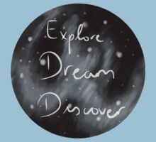 Explore, Dream, Discover Baby Tee