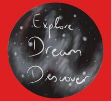 Explore, Dream, Discover Kids Tee