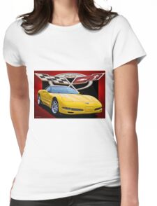 2006 Corvette Z06 '50th Anniversary' VII Womens Fitted T-Shirt