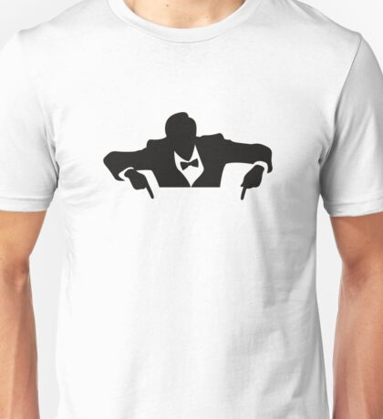 Cool guy in a tuxedo Unisex T-Shirt