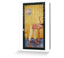 YOGA. Greeting Card