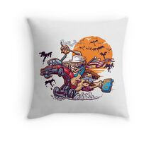 Fink and Loathing Throw Pillow