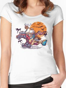 Fink and Loathing Women's Fitted Scoop T-Shirt