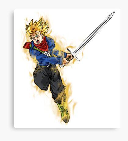 Trunks Super Saiyan - Dragon Ball Super Canvas Print
