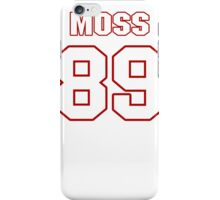 NFL Player Santana Moss eightynine 89 iPhone Case/Skin
