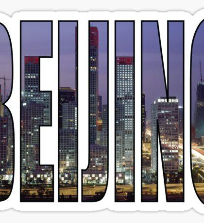 Beijing Sticker