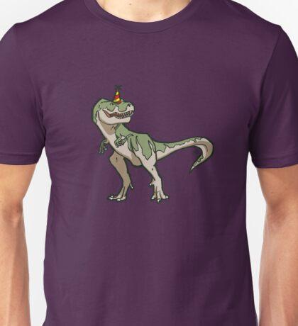 Party T-rex Unisex T-Shirt