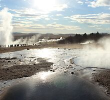 Geyser in Iceland by karina5