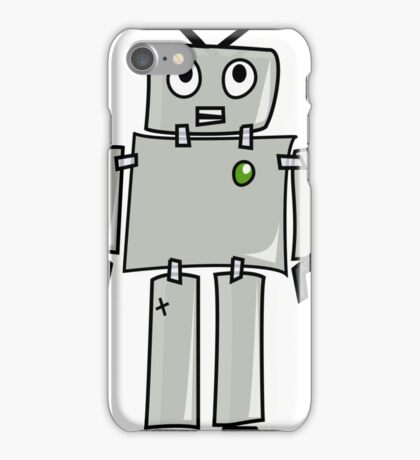 Joe the  Robot iPhone Case/Skin