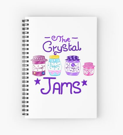 The Crystal Jams Spiral Notebook