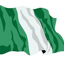 Nigeria Flag by kwg2200