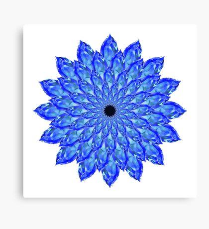 Crystalflower#1 Canvas Print