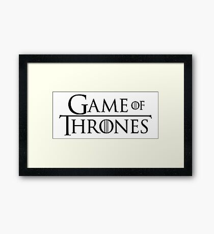 GAME OF THRONES (LOGO) Framed Print