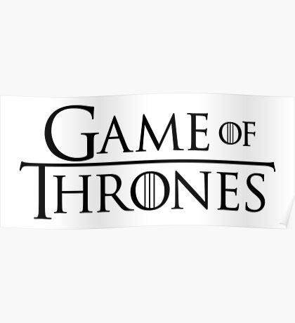 GAME OF THRONES (LOGO) Poster