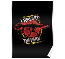 I survived the park Poster