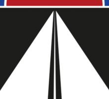 Cannonball Run Memorial Trophy Dash Sticker