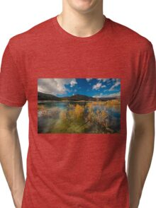 Bushes in the water at Amadorio Tri-blend T-Shirt