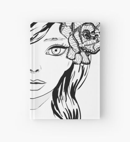 Ella LineArt Hardcover Journal