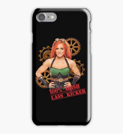 Becky Lynch Irish Lasskicker iPhone Case/Skin