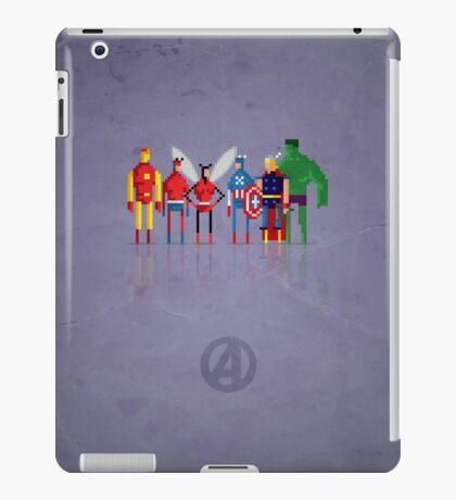 8-bit Marvelous Avenging Heroes iPad Case/Skin