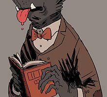 awarewolf by notmusa