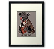 awarewolf Framed Print