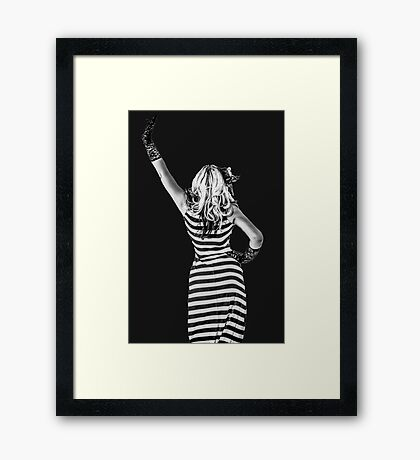 Back to the 20s Framed Print