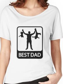 Best dad Women's Relaxed Fit T-Shirt