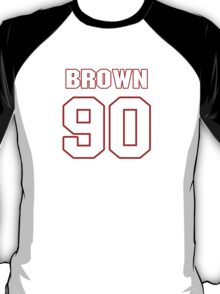 NFL Player Everette Brown ninety 90 T-Shirt
