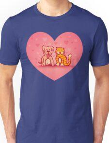 Cat and dog Unisex T-Shirt