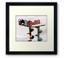 Uncorked Framed Print
