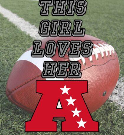 AFC Love Sticker
