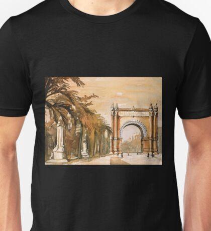 Triumpha Arch- Barcelona, Spain Unisex T-Shirt