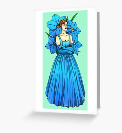 Grace Flower Greeting Card