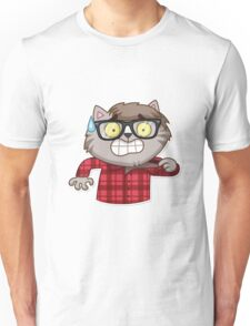 Vincent Whiskers Scary Unisex T-Shirt