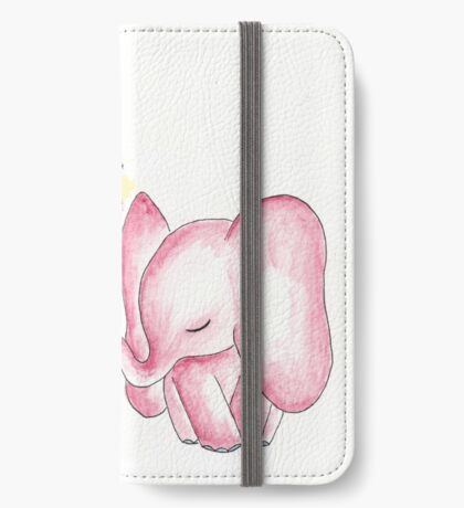 Pink Elephant Bouquet iPhone Wallet/Case/Skin